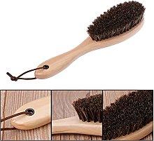 MUsen Horsehair Brush Boot Shoe Shine Cleaner