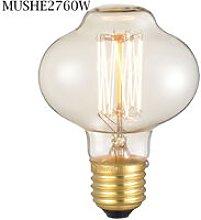 Mushroom E27 60W Dimmable Vintage Bowl Light Bulb