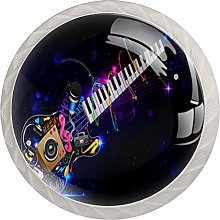 Music Guita Drawer Knobs Pulls Cabinet Handle for