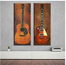 Music Guitar Decorative Wall Paintings for Home