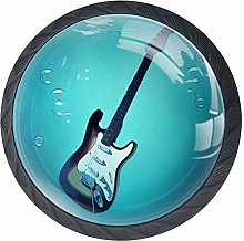 Music Guitar Underwater Cabinet Door Knobs Handles