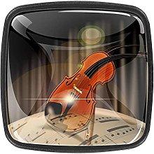 Music Violin Knobs for Dresser Drawers 30MM