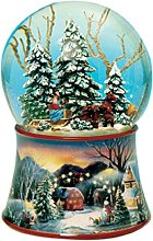 Musicbox World 48084 Snow Globe Sleigh Playing