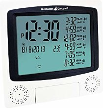 Muslim Azan Alarm Clock With Large LED Display,