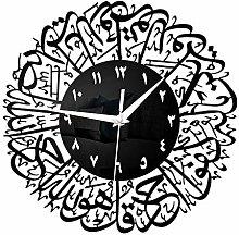 Muslim Wall Clock Creative Islamic Calligraphy