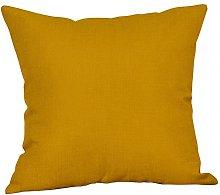 Mustard Pillow Case Yellow Geometric Fall Autumn