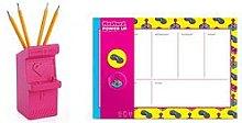 Mustard Power Up Pen pot + Weekly planner, One Colour, Women