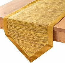 Mustard Yellow Kitchen Table Runners (14x90 inch,