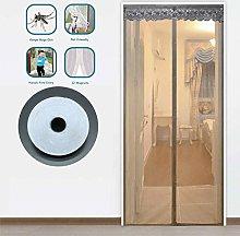 Mute Magnetic Screen Door, No Drilling Magnetic