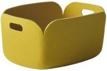 Muuto - Restore Storage Basket - yellow -