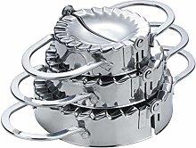 MUUZONING 3Pcs Stainless Steel Pierogi/Dumpling
