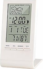 MUYEY Electronic clock with digital mirror, With