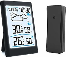 MUYEY Weather station Radio With outdoor sensor,