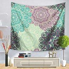 muyichen Tapestry Mandala Hd Print Carpet Hippie