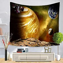 muyichen Tapestry Mandala Starry Sky Wall Hanging