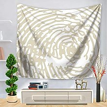muyichen Tapestry Mandala Striped Abstract Wall