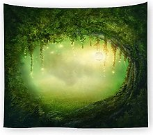 muyichen Tapestry Mandala Wall Hanging Fantasy
