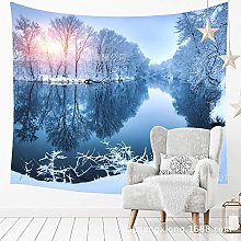 muyichen Tapestry Mandala Wall Hanging Lake In The