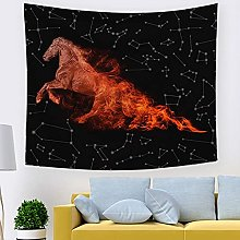 muyichen Tapestry Mandala Wall Hanging Starry Sky
