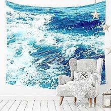 muyichen Tapestry Mandala Wall Hanging Wild Waves