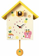 Muyuuu Cuckoo Clock Large Birdhouse, Modern Simple