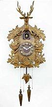 Muyuuu Cuckoo Clock Quartz Movement, Deer/Maple