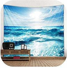 MUZIBLUE Tapestry Hangers Walls| Blue Sea Water