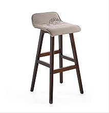 MUZIDP Bar Furniture Barstools Solid Wood Bar