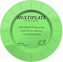 Mv Tech MVT553 Trivet, Green, 33 cm, White