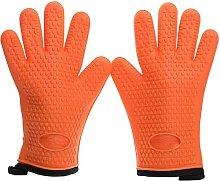 MVKV Silicone Smoker Oven Gloves -Extreme Heat