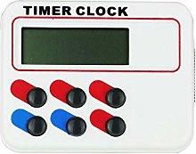 MVLJ Kitchen Timer LED Digital Alarm Clock Kitchen