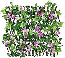 MVNZXL Artificial Hedges Fence, Expandable