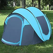 MVNZXL Beach Tent, 5-6 Person Family Camping Tent,
