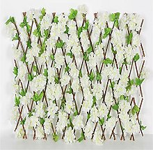 MVNZXL Expandable Faux Ivy Privacy Fence Screen,