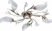 MW-Light 242016205 Floral Modern Ceiling Light Low