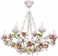 MW-Light 421013506 Floral Chandelier Ceiling Light