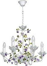MW-Light 421014406 Pendant Floral Chandelier
