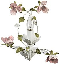 MW-Light 421022801 Classic Floral Candle Wall