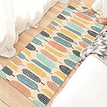 MWMG Hallway Rug,Non-Slip Area Carpet Cute Cartoon
