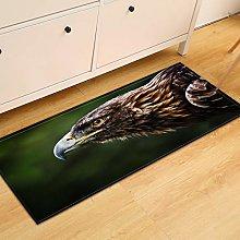 MWMG Runner Rug,Non-Slip Area Carpet Forest Stare