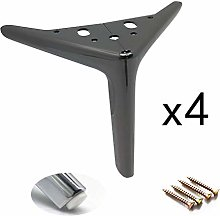 MWPO 4 Pieces Furniture Legs,Metal Cabinet