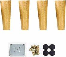 MWPO Oak Wood Furniture Legs,Table Leg,Conical