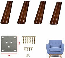 MWPO Oblique Solid Wood Sofa Legs,Table Legs,TV