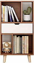 MWPO Sturdy Solid wood Bookshelf,Floor-standing