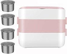 MXCYSJX Electric Lunch Box, Multifunction Portable