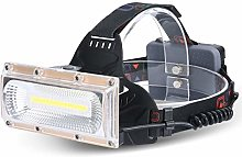 MXCYSJX Headlamp,8000 Lumen Rechargeable Headlamp,