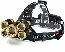 MXCYSJX Soft Digits Headlamp,12000 Lumen Ultra