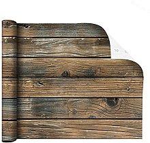 MXFFW Antique Antique Brown Wood Wallpaper Bark
