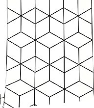 MXFFW Geometric Lines Diamond Shell and Sticky