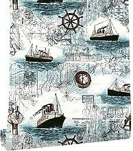 MXFFW Nautical-Themed Self-Adhesive Wallpaper,